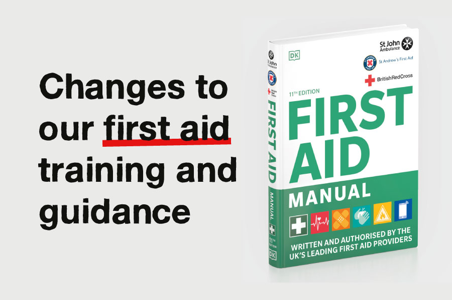 changes to our first aid training